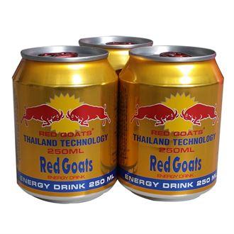 越原装进口红牛红羊版 牛磺酸维生素功能饮料250ml*24罐
