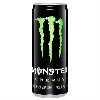 可口可乐 Monster怪物(鬼爪)魔爪能量型运动饮料 330ml*24